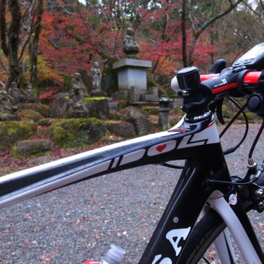 ロードバイクで紅葉の大寧寺へ
