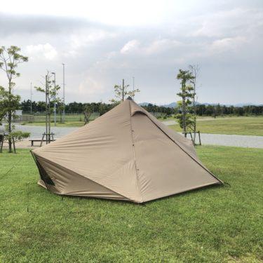 初心者キャンパーがテントを購入した 【GIGI-1】
