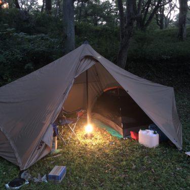 【インプレ】秋吉台家族旅行村:ソロキャンプ